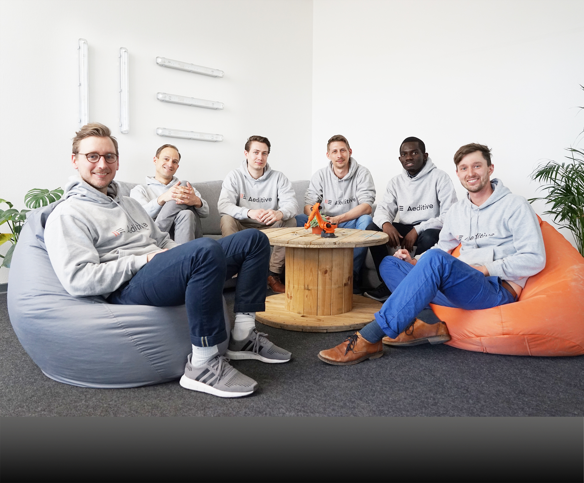 Aeditive team in office
