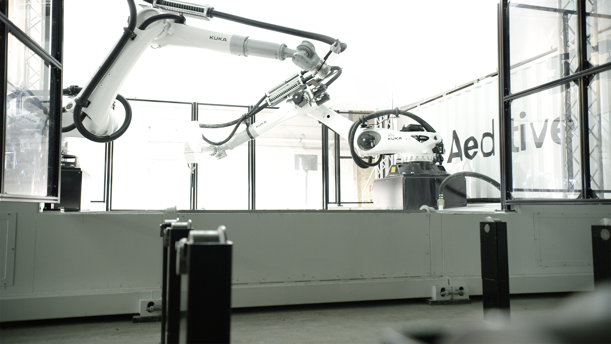Aeditive Concrete Aeditor 3d printer externel perspective robots
